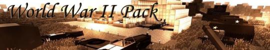 Скачать пак World War II Pack для Майнкрафт 1.12.2